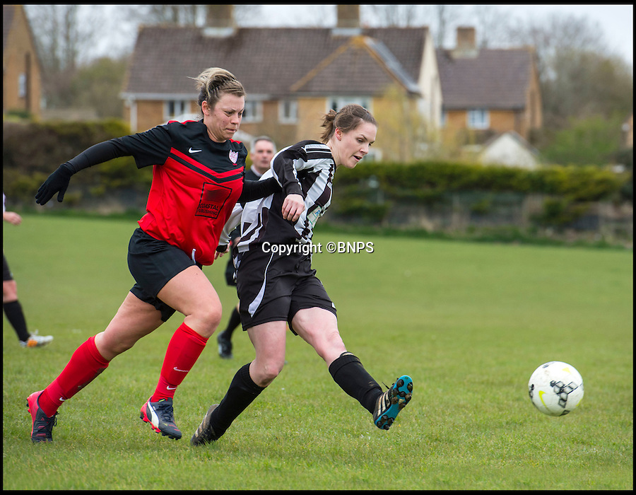 BNPS.co.uk (01202 558833)<br /> Pic: PhilYeomans/BNPS<br /> <br /> Becky netted another hat trick at the weekend.<br /> <br /> Forget Vardy, Kane and Aguero  - Dorset goal machine Becky Narramore has got more goals than all of them put together this season...<br /> <br /> There's a new fox in the box in the shape of super striker Becky Narramore who has scored a staggering 80 goals in just 11 games this season.<br /> <br /> Becky, 27, has taken the Dorset Women's League by storm this season and has averaged an impressive 7.2 goals a game. <br /> <br /> She has netted more times than Premier League stars Vardy, Harry Kane and Sergio Aguero combined.