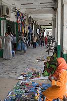 Tripoli, Libya - Street Scene, Shopping Arcade, Rashid Street