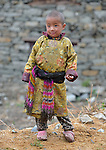 Kami Ghale, 5, lives in the Tamang village of Goljung, in the Rasuwa District of Nepal near the country's border with Tibet.<br /> <br /> Parental consent obtained.