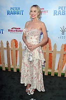 LOS ANGELES, CA - FEBRUARY 03: Margot Robbie at the premiere of Columbia Pictures' 'Peter Rabbit' at The Grove on February 3, 2018 in Los Angeles, California. <br /> CAP/MPI/DE<br /> &copy;DE//MPI/Capital Pictures