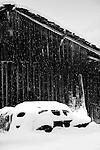 Taken in Morzine in heavy snow