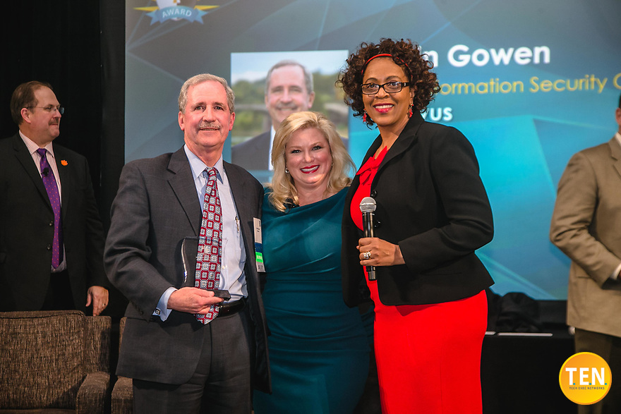 T.E.N. and Marci McCarthy hosted the ISE® Southeast Executive Forum and Awards 2019 at the Westin Peachtree Plaza Downtown in Atlanta, Georgia on February 6, 2019.<br /> <br /> Visit us today and learn more about T.E.N. and the annual ISE Awards at http://www.ten-inc.com.<br /> <br /> Please note: All ISE and T.E.N. logos are registered trademarks or registered trademarks of Tech Exec Networks in the US and/or other countries. All images are protected under international and domestic copyright laws. For more information about the images and copyright information, please contact info@momentacreative.com.