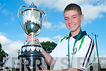 Creagh Courtney, Deerpark Pitch and Putt, Killarney, who won the National U16 championships held in Deerpark, Killarney on Saturday.