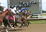 September 20, 2014: Scenes from Pennsylvania Derby Day at Parx Racing in Bensalem, PA.: Race 8, an allowance optional claiming race for fillies and mares three and upward. Joan Fairman Kanes/ESW/CSM