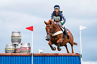 AUS-Lissa Green rides Med Night Trafford Mignonette during the Cross Country for the CCI3*-S Section A. 2019 GBR-Barbury Castle International Horse Trial. Wiltshire, Great Britain. Saturday 6 July. Copyright Photo: Libby Law Photography
