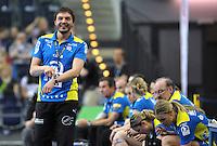 Handball Bundesliga Frauen - Playoff Finale um die deutsche Meisterschaft. Zum Hinspiel empfängt der Handballclub Leipzig (HCL) den Thüringer HC (THC). .IM BILD: HCL Trainer Thomas Oerneborg .Foto: Christian Nitsche