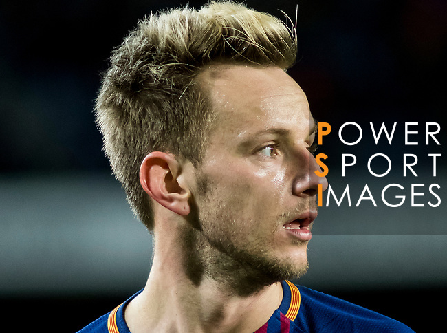 Ivan Rakitic of FC Barcelona looks on during the Copa Del Rey 2017-18 Round of 16 (2nd leg) match between FC Barcelona and RC Celta de Vigo at Camp Nou on 11 January 2018 in Barcelona, Spain. Photo by Vicens Gimenez / Power Sport Images