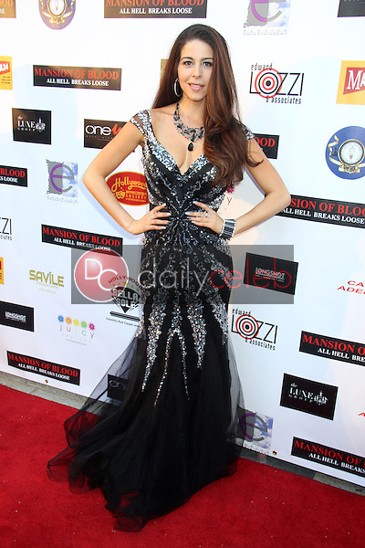 """Jennifer Tapiero<br /> at the """"Mansion Of Blood"""" Premiere in combination wth the Southern California Motion Picture Council's 79th Annual Founders Day Awards, The Egyptian Theatre, Hollywood, CA 05-19-15<br /> David Edwards/DailyCeleb.Com 818-249-4998"""