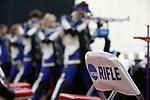 COLUMBUS, OH - MARCH 11: Shooters compete during the Division I Rifle Championships held at The French Field House on the Ohio State University campus on March 11, 2017 in Columbus, Ohio. (Photo by Jay LaPrete/NCAA Photos via Getty Images)