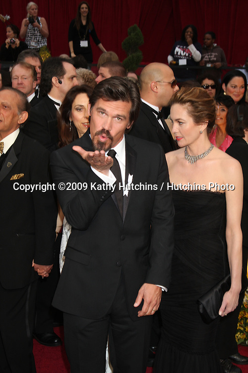 Josh Brolin & Diane lane  arriving at the 81st Academy Awards at the Kodak Theater in Los Angeles, CA  on.February 22, 2009.©2009 Kathy Hutchins / Hutchins Photo...                .