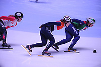 SHORT TRACK: ROTTERDAM: Ahoy, 12-03-2017, KPN ISU World Short Track Championships 2017, Rianne de Vries (NED | #51), Arianna Fontana (ITA | #111), ©photo Martin de Jong
