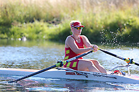 Race: 16  W.1x (Band 2)  Heat 1<br /> <br /> Peterborough Summer Regatta 2018 - Saturday<br /> <br /> To purchase this photo, or to see pricing information for Prints and Downloads, click the blue 'Add to Cart' button at the top-right of the page.