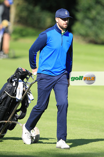 Ruaidhri McGee (IRL) during round 1 of the Irish Challenge, Mount Wolseley Hotel and Golf Resort, Tullow, Co Carlow, Ireland 14/09/2017<br /> Picture: Fran Caffrey / Golffile<br /> <br /> All photo usage must carry mandatory copyright credit (&copy; Golffile | Fran Caffrey)