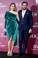 Emiliano Suarez Pascual (r) y Carola Baleztena during the XIV VOGUE Jewels Awards. November 23, 2017. (ALTERPHOTOS/Acero) /NortePhoto.com NORTEPHOTOMEXICO