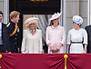 KATE, CAMILLA, PRINCE HARRY AND PRINCESS EUGENIE<br /> appear on the balcony of Buckingham Palace to watch the Royal Air Force Flypast as part of the Trooping of the Colour, London_15th June 2013<br /> The annual event marks the Queen's Official Birthday.<br /> Photo Credit: &copy;Dias/NEWSPIX INTERNATIONAL<br /> <br /> **ALL FEES PAYABLE TO: &quot;NEWSPIX INTERNATIONAL&quot;**<br /> <br /> PHOTO CREDIT MANDATORY!!: NEWSPIX INTERNATIONAL<br /> <br /> IMMEDIATE CONFIRMATION OF USAGE REQUIRED:<br /> Newspix International, 31 Chinnery Hill, Bishop's Stortford, ENGLAND CM23 3PS<br /> Tel:+441279 324672  ; Fax: +441279656877<br /> Mobile:  0777568 1153<br /> e-mail: info@newspixinternational.co.uk