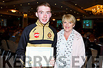 Nathan and Jacinta Costello at the CBS Academic Achievements awards evening in Rose Hotel on Thursday night.
