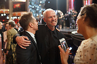 Oscar&reg; winner Sam Rockwell and Oscar&reg; nominee Martin McDonagh at The 90th Oscars&reg; at the Dolby&reg; Theatre in Hollywood, CA on Sunday, March 4, 2018.<br /> *Editorial Use Only*<br /> CAP/PLF/AMPAS<br /> Supplied by Capital Pictures