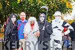Enjoying Tralee's Run in the Park Halloween 5km fancy dress run on Saturday were Born To Run, Helena Shanahan, Randall Wharton, Marlyn O'Shea and Brian O'Shea.