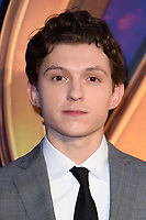 Tom Holland arriving for the &quot;Avengers: Infinity War&quot; fan event at the London Television Studios, London, UK. <br /> 08 April  2018<br /> Picture: Steve Vas/Featureflash/SilverHub 0208 004 5359 sales@silverhubmedia.com