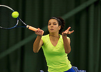 March 13, 2015, Netherlands, Rotterdam, TC Victoria, NOJK, Diana Chehoudi (NED)<br /> Photo: Tennisimages/Henk Koster