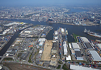Steinwerder Hafen: EUROPA, DEUTSCHLAND, HAMBURG 19.04.2018 Steinwerder Hafen
