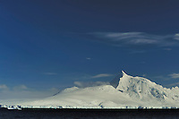 Cold Mountain - Cruising through the narrow Lemaire Channel