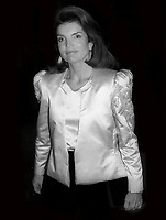 Jackie Kennedy 1981<br /> Photo By Adam Scull/PHOTOlink.net