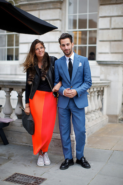 Jennifer Inglis and Matthew Zorpas