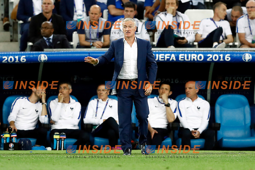 France coach Didier Deschamps <br /> Marseilles 07-07-2016 Stade Velodrome Football Euro2016 Germany - France / Germania - Francia Semi-finals / Semifinali <br /> Foto Matteo Ciambelli / Insidefoto