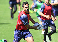 Peta Hiku, <br /> Vodafone Warriors training session. Mt Smart Stadium, Auckland, New Zealand. NRL Rugby League. Tuesday 13 March 2018 &copy; Copyright photo: Andrew Cornaga / www.photosport.nz