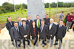 Kerry County Council Road design staff from left: James Sayers, Declan O'Mahony, Mike Dineen Donal O'Connell, Paul Curry, Tracey Smith, Tom Curran County Manager, Michael McGough, Sabastian Joubert, Gerard Kearney and Brian O'Connor pictured at the opening of the Tralee Bypass Road on Friday.