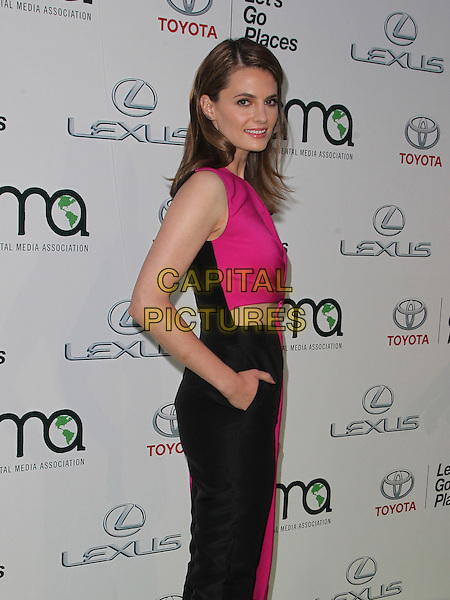 18 October 2014 - Burbank, California - Stana Katic. 24th Annual Environmental Media Awards Presented By Toyota And Lexus Held at The Warner Brothers Studios.   <br /> CAP/ADM/FS<br /> &copy;Faye Sadou/AdMedia/Capital Pictures