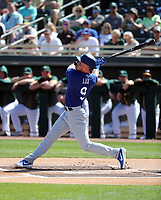 Gavin Lux - Los Angeles Dodgers 2020 spring training (Bill Mitchell)