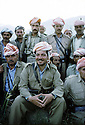 Iran 1985.Masoud Barzani.Iran 1985.Masoud Barzani