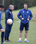 Ally McCoist and Lee Wallace
