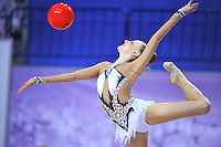 September 26, 2014 - Izmir, Turkey - JAZZY KERBER of USA performs in the All-Around competition at 2014 World Championships.