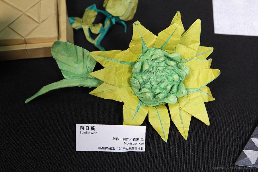 Sunflower Origami By Morisue Kei Cribb Visuals
