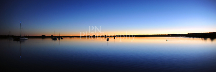 Beautiful Pelican lagoon at American River on Kangaroo Island this was taken late one evening with the most stunning sunset.