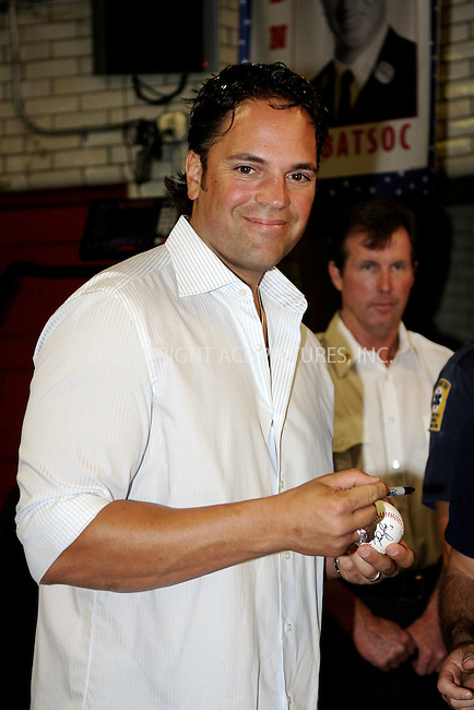 WWW.ACEPIXS.COM . . . . .  ....September 9 2011, New York City....New York Mets baseball player Mike Piazza met Fire Fighters in the East Village on September 9 2011 in New York City....Please byline: NANCY RIVERA- ACEPIXS.COM.... *** ***..Ace Pictures, Inc:  ..Tel: 646 769 0430..e-mail: info@acepixs.com..web: http://www.acepixs.com