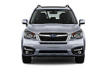 Car photography straight front view of a 2017 Subaru Forester Comfort 5 Door Wagon Front View