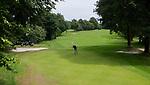 GROESBEEK - Groesbeekse Baan Zuid 7 (par 4) , met zicht op Duitsland. Golfbaan Het Rijk van Nijmegen. COPYRIGHT  KOEN SUYK