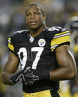 07 September 2006: Pittsburgh Steelers' Arnold Harrison before their game against the Miami Dolphins at Heinz Field in Pittsburgh, Pennsylvania.<br />