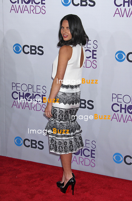 Olivia Munn, The 39th Annual People's Choice Awards at the Nokia Theatre L.A. Live (Los Angeles, CA.).January 9, 2013.