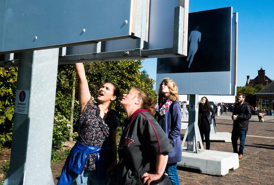 Nederland, Amsterdam, 29 sept 2013<br /> Unseen fotofestival, Westerpark,  <br /> <br /> Foto(c): Michiel Wijnbergh