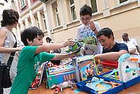 Mercatino del baratto. La Casa del quartiere. Torino