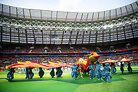 180614 Opening Ceremony during the FIFA World Cup WM Weltmeisterschaft Fussball group stage match between Russia and Saudi Arabia on June 14, 2018 in Moscow. Photo: Petter Arvidson / BILDBYRAN / kod PA / 92065 *** 180614 Opening ceremony during the FIFA World Cup group stage match between Russia and Saudi Arabia on June 14 2018 in Moscow Photo Petter Arvidson BILDBYRAN Code PA 92065 PUBLICATIONxNOTxINxDENxNORxSWExFINxAUT Copyright: PETTERxARVIDSON BB180614PA057  <br /> Foto Imago/Insidefoto