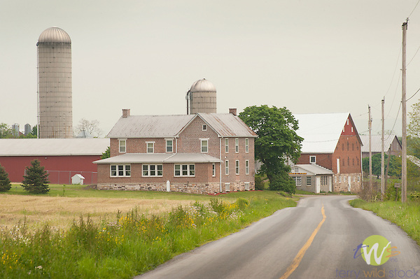 Farm and farmhouse, Franklin County, PA