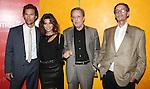Matthew McConaughey, Gina Gershon & William Friekin backstage at 'TimesTalks: Stage To Screen' with David CarrNew York City on 7/24/2012.