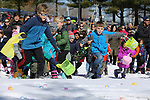 Wall Township held their annual Easter Egg Hunt and Pankcake Breakfest at the Wall Township Municipal Building on Saturday March 24, 2018.Children race toward over 6000 Easter eggs during the events.<br /> (MARK R. SULLIVAN /THE COAST STAR)