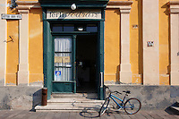 Barber shop, Esztergon, Hungary